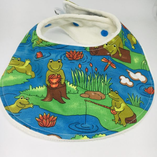 Baby Bib Frog