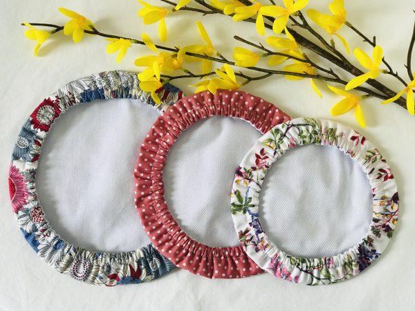 Mila's Reusable Bowl Covers set of 3 Floral blue/Dot/Berries - 201A46A9 A3B7 4510 A350 1E6E9BA73ACA