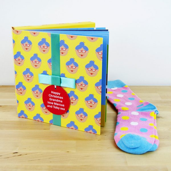 Grandma Gift Book with Socks - 21602993910 0a2bb71e6a z