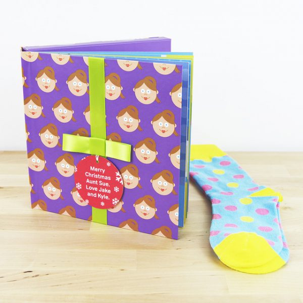 Aunt Gift Book with Socks - 21604143449 f3d36e5f16 z