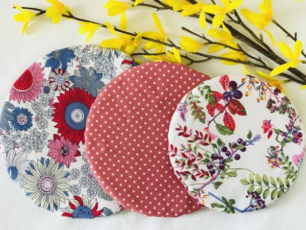 Mila's Reusable Bowl Covers set of 3 Floral blue/Dot/Berries - 26A6FE8C 9AD8 4B99 8EE5 12CF9143767F
