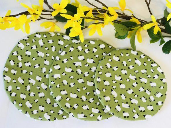 Mila's Reusable Bowl Covers set of 3 Sheep - 2D439E10 6F94 48FF A590 994D5F1982CC