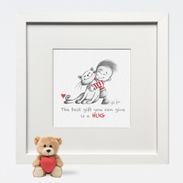'The best gift you can give' Nursery Print - 42