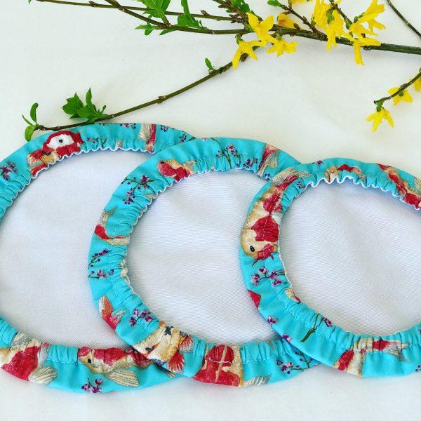 Mila's Reusable Bowl Covers set of 3 -Koi Fish sky blue - 423C20AD 2060 41FA 88FD 141AF0359FDC