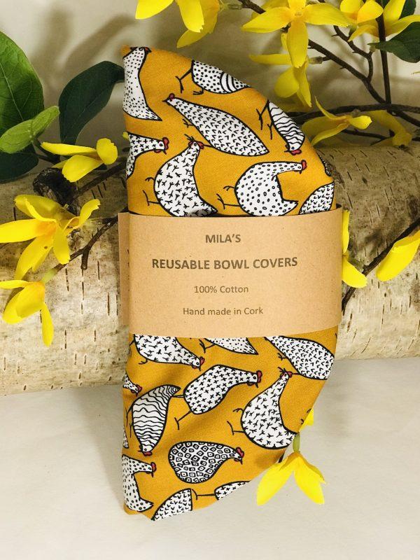 Mila's Reusable Bowl Covers set Chickens - 463D6738 CA14 4DFC AD6C 11B53905CA19