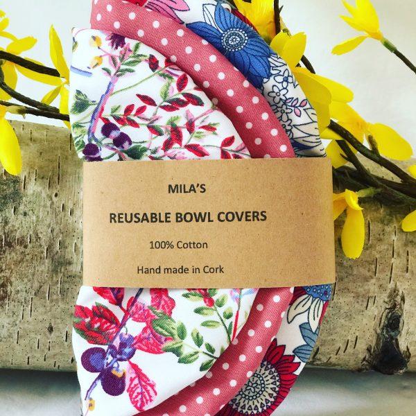 Mila's Reusable Bowl Covers set of 3 Floral blue/Dot/Berries - 4B31C9C4 04EC 4378 83BB C23A71E889FA