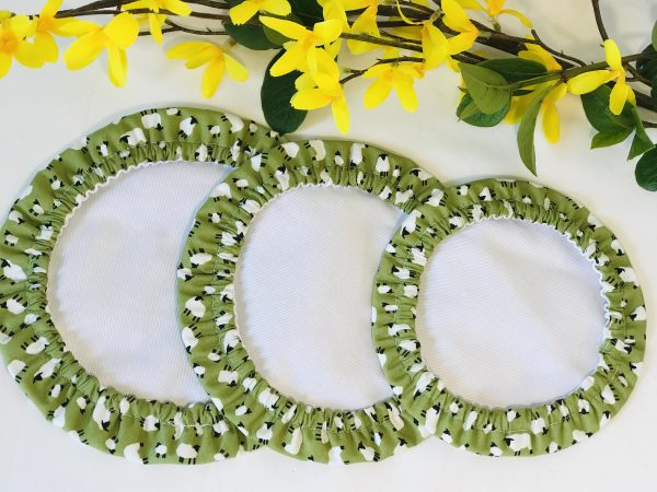 Mila's Reusable Bowl Covers set of 3 Sheep - 60A4AEA5 1114 405C B213 288664B46C24