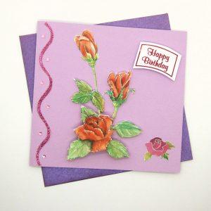 Handmade Birthday Card - 742