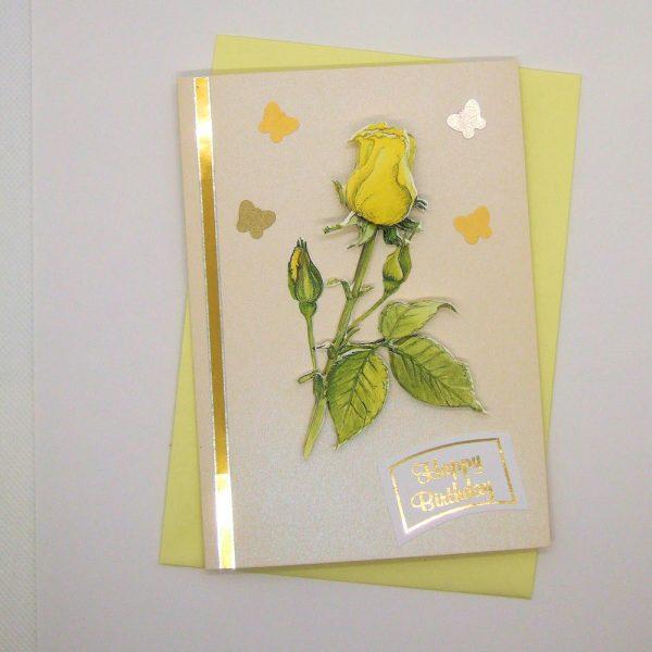 Handmade Birthday Card - 748 - 748a