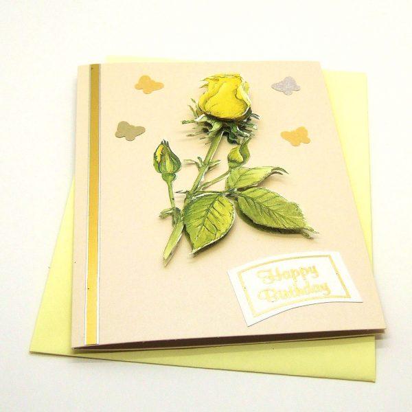 Handmade Birthday Card - 748 - 748b