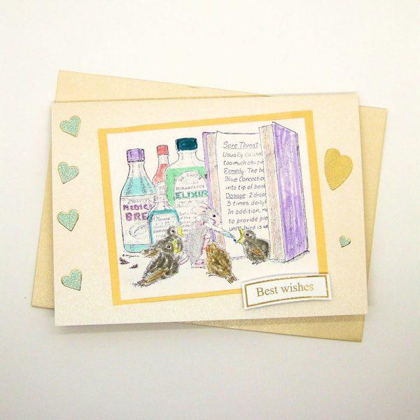 Handmade Greetings Card - 752 - 752b