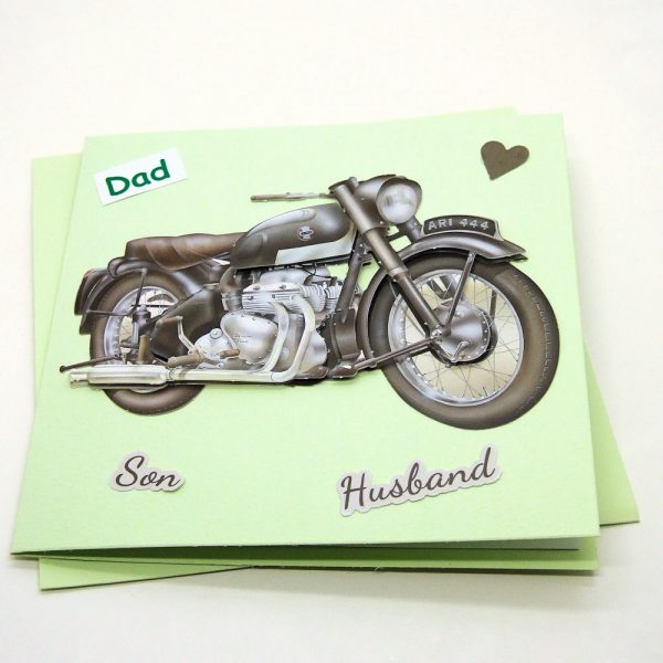 Handmade 'Dad / Father's Day' Card - 758 - 758a