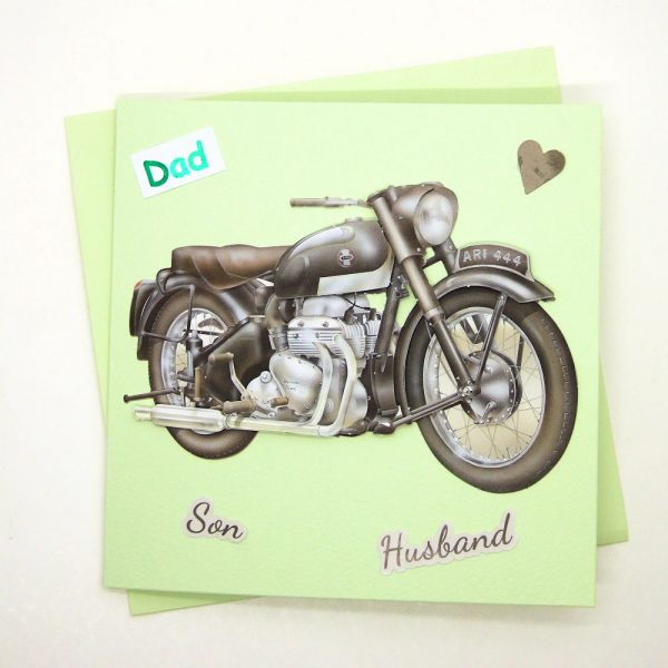 Handmade 'Dad / Father's Day' Card - 758
