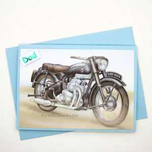 Handmade 'Dad / Father's Day' Card - 763