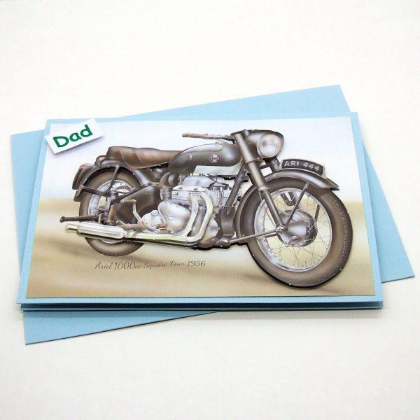 Handmade 'Dad / Father's Day' Card - 763 - 763b 1
