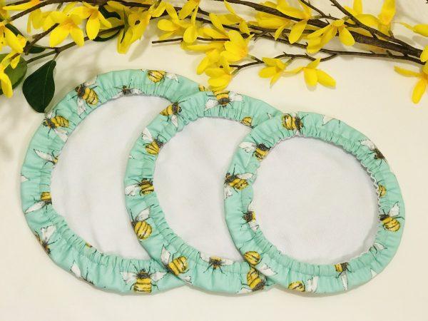 Mila's Reusable Bowl Covers set of 3 - Bees Mint - 84FAD239 67AF 45DB 9055 368A750D633F