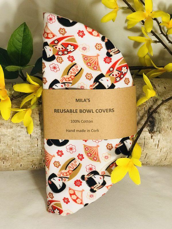 Mila's Reusable Bowl Covers set of 3 - Geisha - 952F50A1 12A8 4A48 83C8 20B31BF3A3C7