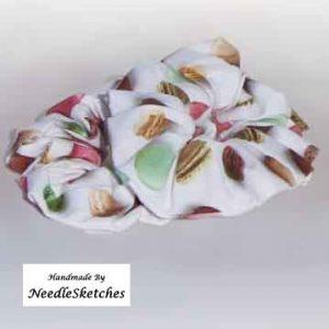 girls cotton scrunchies