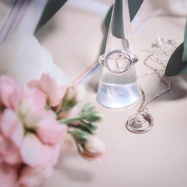 Love Knot Sterling Silver Ring - AC04E0F1 E8CF 44E2 9490 6242AFF085A8