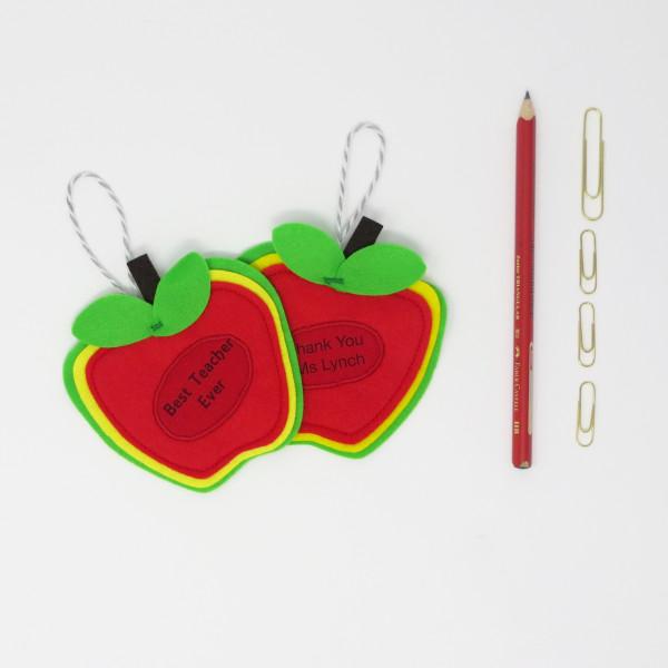 Teacher / SNA / Principal Gift - A Small Token as a Big Thank you - Apple for Teacher 2
