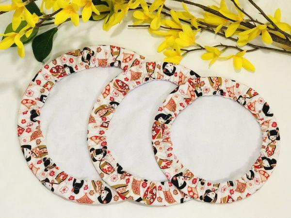 Mila's Reusable Bowl Covers set of 3 - Geisha - B2365215 CE7B 4BFE A6A7 1A01592743F5