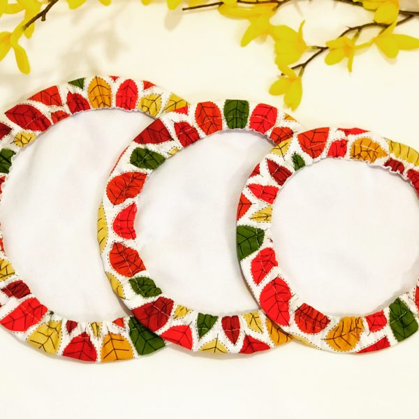 Mila's Reusable Bowl Covers set of 3 -Autumn leaves - B92305B9 37D7 4F27 9033 74644EBF4F5F
