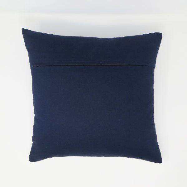Children's Book Lover Cushion with Pouch - Back of Cushion