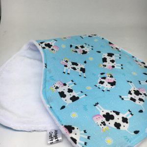 Burp Cloth cow