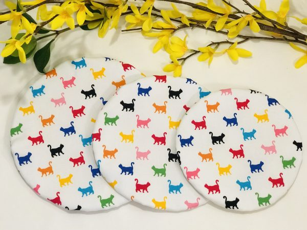 Mila's Reusable Bowl Cover set of 3 Cats - FAFB941D DE0C 4F1A A430 8E1E476D59A5