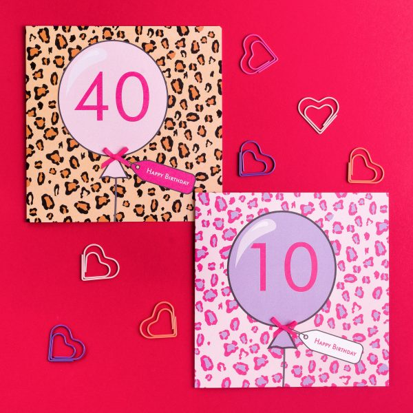 10th Birthday Card Animal Print - IMG 20210330 095651 501