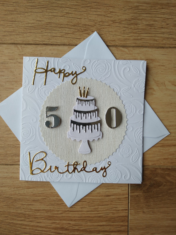 Selection of Milestone Birthday Cards Gold/Silver - IMG 20210402 113213265 2 scaled