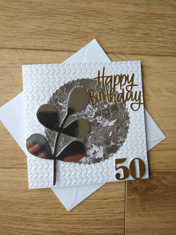 Selection of Milestone Birthday Cards Gold/Silver - IMG 20210402 113222287 2 scaled