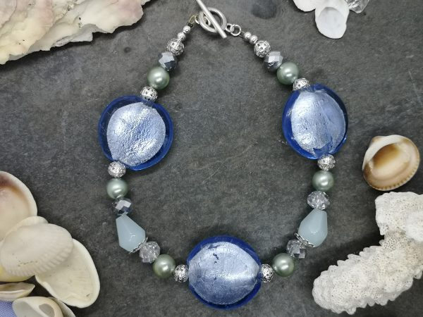 Bold & Beautiful Bracelet - Blue