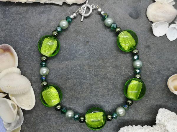 Bold & Beautiful Bracelet - Green