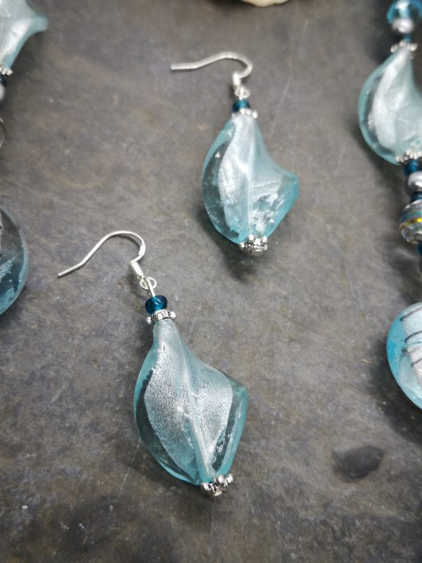Bold & Beautiful Collection - Baby Blue Necklace and Earrings - IMG 20210406 121548