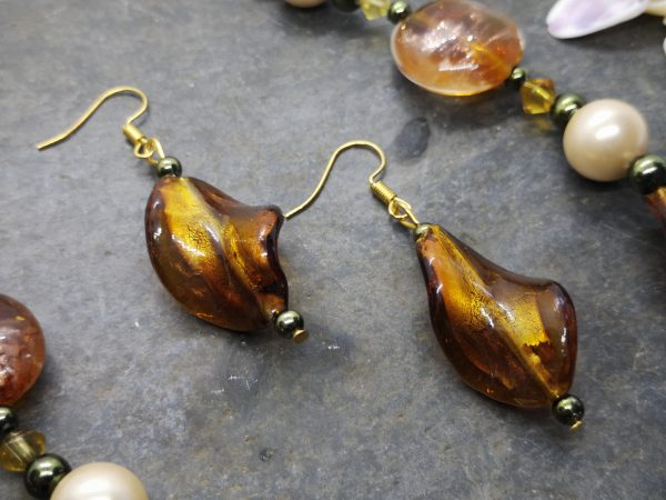 Bold & Beautiful Collection - Bronze Necklace and Earrings - IMG 20210406 122036