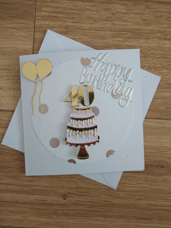Selection of Milestone Birthday Cards Gold/Silver - IMG 20210425 172422747 scaled