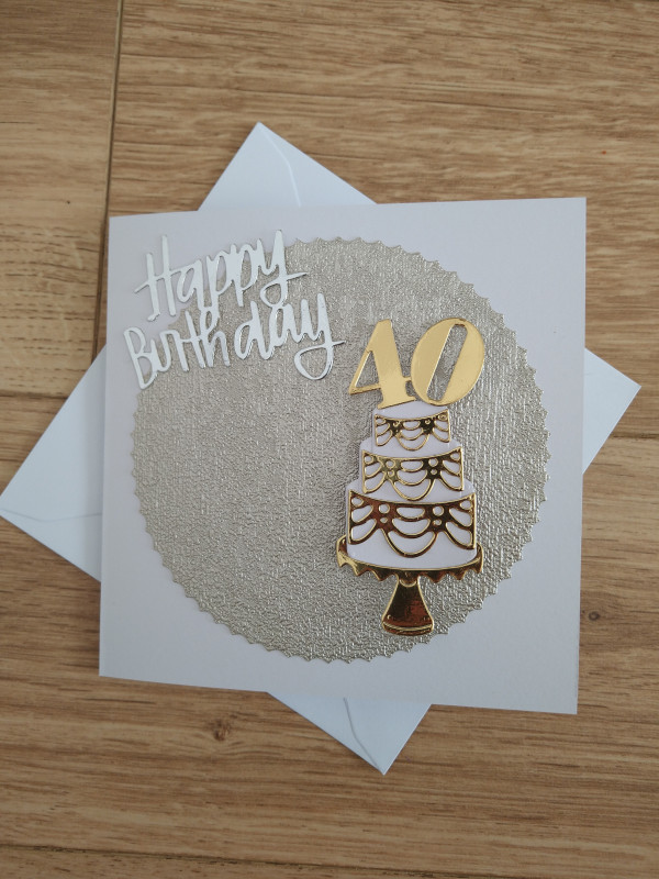 Selection of Milestone Birthday Cards Gold/Silver - IMG 20210425 1724365092 scaled