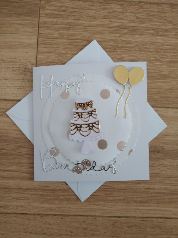 Selection of Milestone Birthday Cards Gold/Silver - IMG 20210425 172513737 scaled