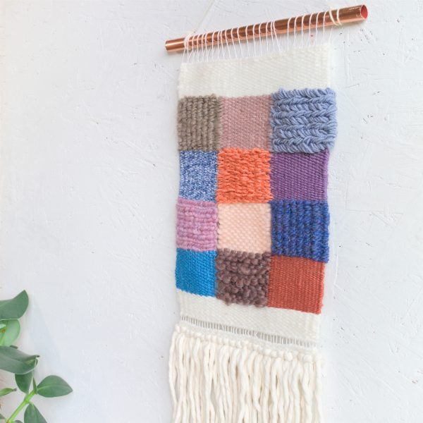 Handwoven Contemporary Woven Wall Hanging - IMG 4218