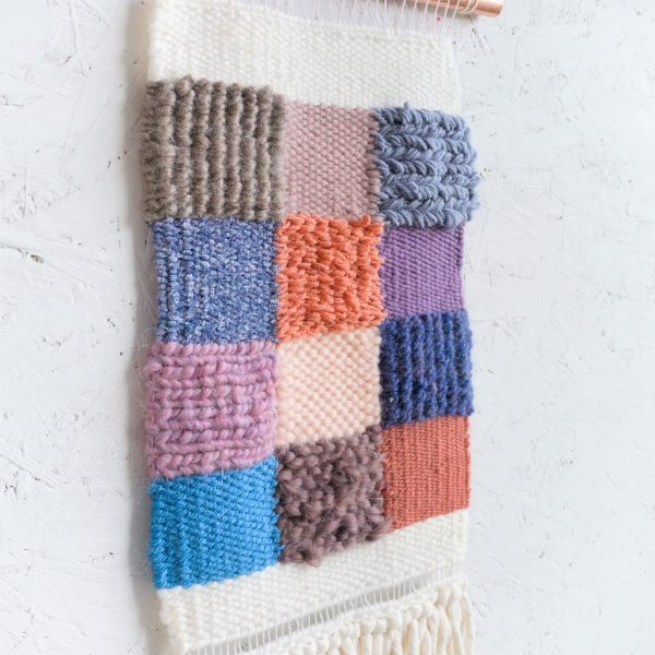 Handwoven Contemporary Woven Wall Hanging - IMG 4219