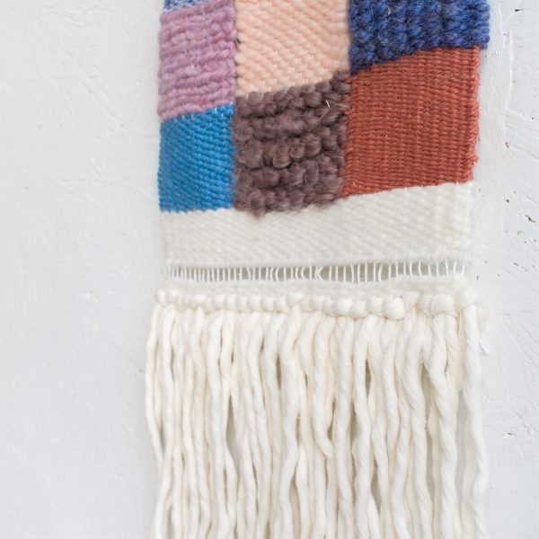 Handwoven Contemporary Woven Wall Hanging - IMG 4224