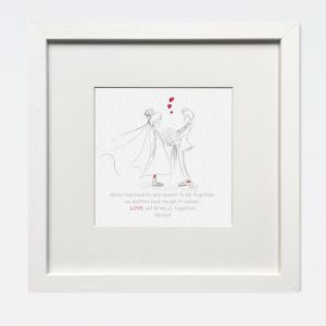 Love Will Bring Us Together Wall Print