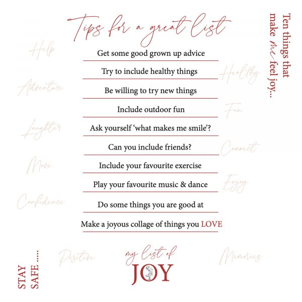 What Is Joy Illustrated Book - Sample Page 2 of What is Joy