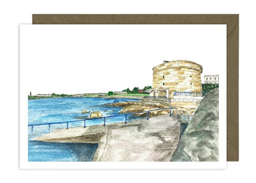 Seapoint Greeting Card