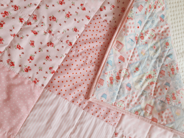 Cath Kidston Inspired Baby Quilt