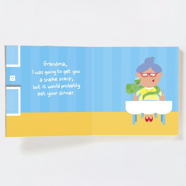 Grandma Gift Book with Socks - grandma spread 1 19692771995 o 1
