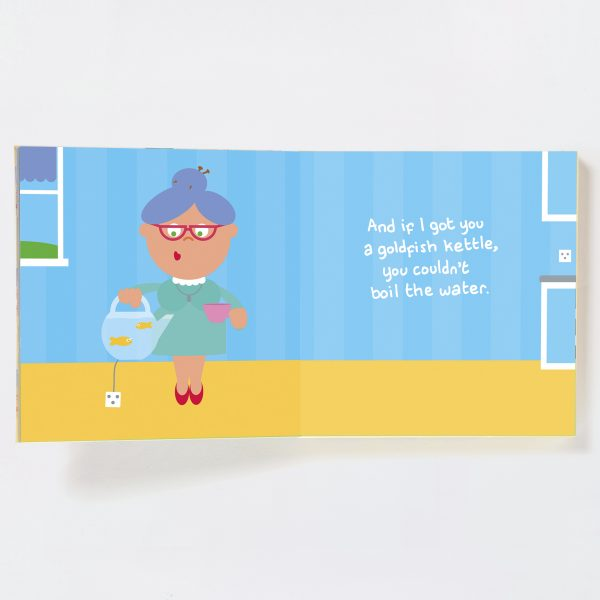 Grandma Gift Book with Socks - grandma spread 5 19071845183 o 1