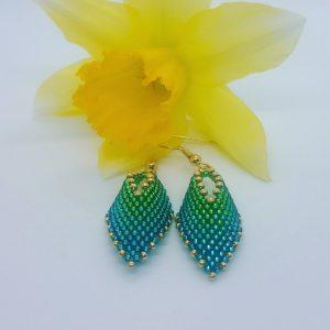 Spring Miniature Leaf Earrings