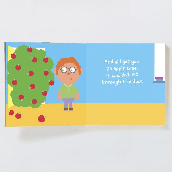 Teacher Gift Book with Socks - teacher male spread 3 19072074133 o 1